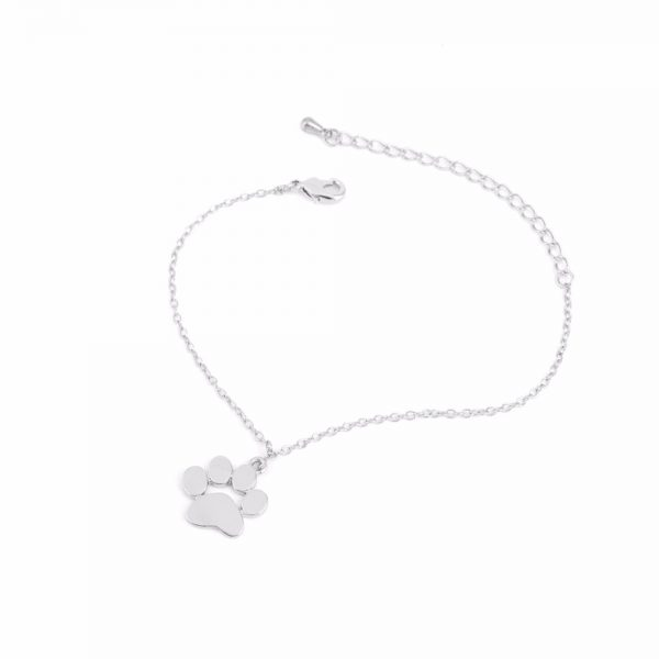 Silver tass armband
