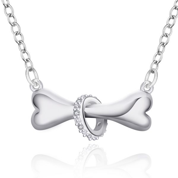 Hot-Paw-Silver-Necklace-Dog-Bone-Tag-18-inch-Pendant-Necklace-Doggie-Puppy-Pet-Wholesale-Jewelry (1)