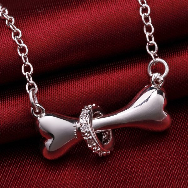 Hot-Paw-Silver-Necklace-Dog-Bone-Tag-18-inch-Pendant-Necklace-Doggie-Puppy-Pet-Wholesale-Jewelry (2)